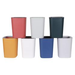 Откройте верхнюю пластмассовую внутри корзины для мусора с давлением кольцо; корзины, вывоз мусора может, мусорное ведро, корзину