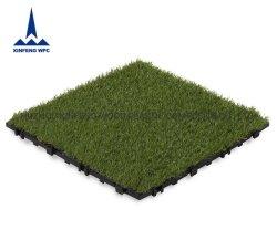 DIY Azulejos do piso do intertravamento de relva artificial para gramado Jardim