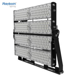 160-170lm/W Outdoor Adjustable Industrial 폴란드와 High Mast Stadium Sports Light Football Field Floodlight 500W 600W 800W 1000W 1200W 1500W LED Flood Light