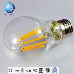 170V-220V LED 전구 E27 4W/6W/8W A60 LED 필라멘트 전구