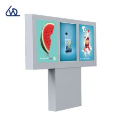 شاشة عرض خارجية بحجم 43 بوصة × 3 IP65 LCD مع شاشة مقاومة للماء عالية السطوع وHDMI