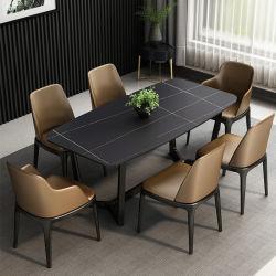 Nuevo diseño personalizado de lujo moderno barata gran juego de mesa de comedor Muebles
