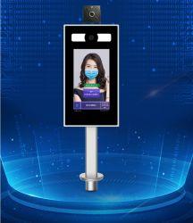 Gesichts-Anerkennungs-Messen-Hilfsmittel-menschlicher Körper-Temperatur-Scan-Befund Monitorings mit System
