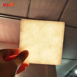 I materiali da costruzione rimuovono il comitato di superficie solido traslucido sporto della resina della pietra 12mm dello strato acrilico