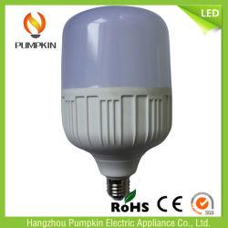 Alluminio bianco di T130 50W E27 6500K/Cool più l'indicatore luminoso della lampadina di alto potere LED di PBT