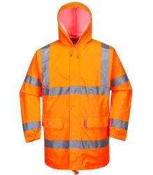 السلامة غلاف غلاف غلاف المطر غلاف غلاف غلاف غلاف غلاف غلاف المطر الملابس التأملية السلامة البيئية التأملية سترة للحماية من التآكل للعمل تتميز بمستوى رؤية عالٍ