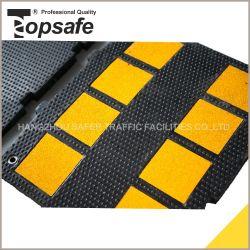 Seguridad del Tráfico de alta resistencia de goma de seguridad en carretera badén
