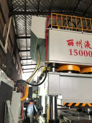 Aceite de doble acción prensa hidráulica Máquina