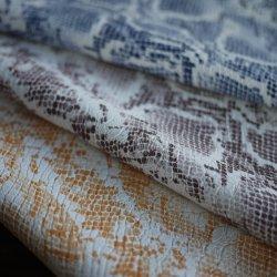 Snakeskin neue Farbe PUsynthetisches Faux-Leder für Tuch-Polsterung-Möbel