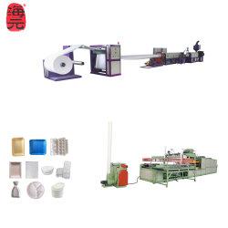 Décisions de la machine en plastique contenant des aliments de la plaque de mousse PS Plat plateau à œufs