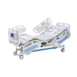 Letto di ospedale elettrico di multi funzione di funzione cinque con la battagliola dei pp