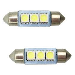 LED C5w 5050 3 SMD 36mm 39mm 41mm Girlande-Innenabdeckung-Tür-Licht-freie helle Lampen-Drehung-Signal-Birne Gleichstrom-12V