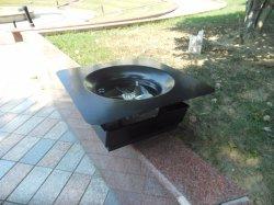 15W Steel Hood Solar Roof Ventilator with Solar Panel