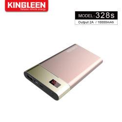Promotion de la Banque d'alimentation 10000mAh Chargeur de téléphone cellulaire mobile