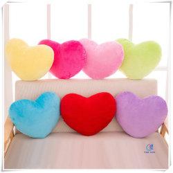 Bunte weiche süße Liebe Herz geformte Kissen für Liebhaber Kinder
