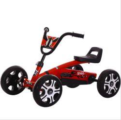 De koele Rit met 4 wielen van de Kinderen van het Go-kart van het Pedaal van Jonge geitjes op de Fiets van de Raceauto van het Stuk speelgoed