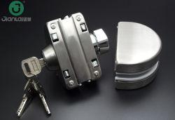 Fabricación de acero inoxidable duradero sin cerco inteligente de la cerradura de puerta Bloqueo de puertas corredizas de vidrio