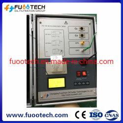 Fuootech 12kv Tan Delta e capacitância perda dielétrica e fator de dissipação Tester