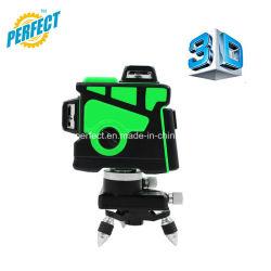 싼 OEM를 위한 Croos 12의 선 녹색 3D Laser 수준