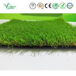 Premium de 20mm verde natural en forma de U pequeño paisaje de Césped Artificial Césped alfombras