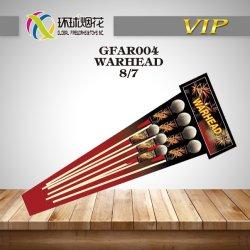 Gfar004-Warhead grandi nomi del Rocket Assorted 1.3G dell'esplosivo da 2 e 2.5 pollici dei fuochi d'artificio