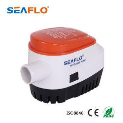 Micro de la pompe à eau de mer Seaflo 12V 1100gph Pompes de cale automatique pour le transport maritime