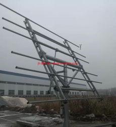 6kw Dual-Axis galvanisé à chaud suivi Solaire Support Certification CE