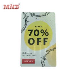 Magnetischer Streifen-Mitgliedskarte-kundenspezifische Rabatt-Karten-Loyalität-Plastikkarte Belüftung-Cr80