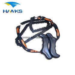 Sega a catena esterna di sopravvivenza della piccola sega a catena della mano dell'acciaio legato di CL2T-CS02 Comlom 65Mn