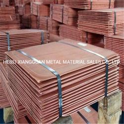 99.9%最小純度の銅は陰極の棒の銅の在庫の電気分解の銅板の陰極を中国製広げる