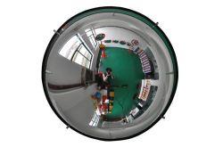 360 градусов купол безопасности Polycarbornate выпуклого зеркала заднего вида