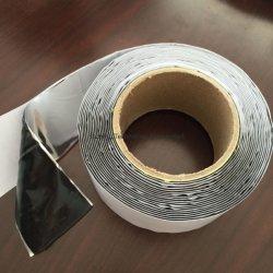Faixa de mastique de reparação de telhado RV isolamento cola de vedação impermeável de folha de alumínio refletivo auto-adesiva de dupla face de betume intermitente de fita de borracha de butilo