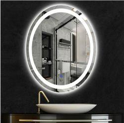 壁に取り付けられた LED ミラー家具、 Luminated Home Hotel Salon