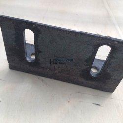 Os suportes de Anjo de Aço de Estampagem personalizada com slots para instalação
