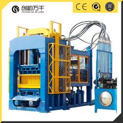 Qt8-15 de enclavamiento de concreto totalmente automática máquina de fabricación de ladrillos Color bloque pavimentadora de venta