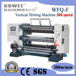 Haute vitesse de refendage contrôlés par le PLC de la machine à 200 m/min
