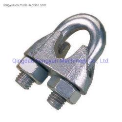Galvanisierter formbarer Drahtseil-Klipp DIN741