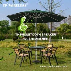 High-End de Slimme Openlucht Zonne Ladende Correcte Spreker van Bluetooth van de Paraplu van het Terras voor het Restaurant van het Hotel van de Binnenplaats