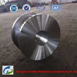 St52 Q345b 고품질 주물 드는 강철 바퀴