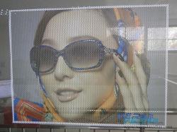 Fora Advertisement PVC e visão de Uma Via