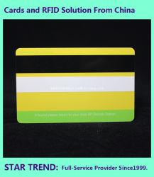 بطاقة ألعاب PVC CMYK Print مع شريط مغناطيسي
