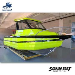 6m сварных алюминиевых лодок рыболовных судов для продажи