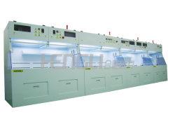 Plataforma de enxaguamento químicos semicondutores
