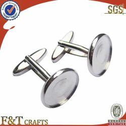 Vendita all'ingrosso di pezzi in argento rotondi e bianchi con logo personalizzato
