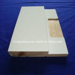 Material de madera con aparejo de moldeo de trama