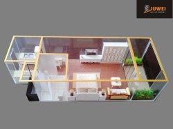 Modèles à échelle miniature de l'architecture interne de la disposition de meubles (JW-300)