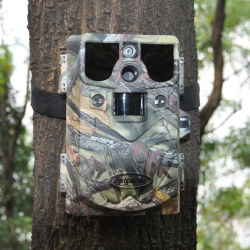 10MP Caméra Surveillance Noir IR