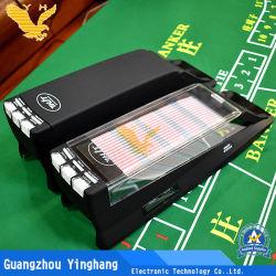 Plattform-bereift automatischer Karten-Händler-SchuhBaccarat des Kasino-8 Qualitäts-Schuhe