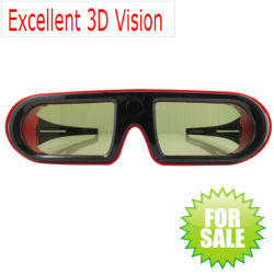 Active Shutter 3D Glasses for 3D Cinema with CE FCC RoHS ISO9001