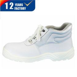 Scarpe da lavoro invernali Middle Cut Scarpe di sicurezza bianche Scarpe con Pelliccia